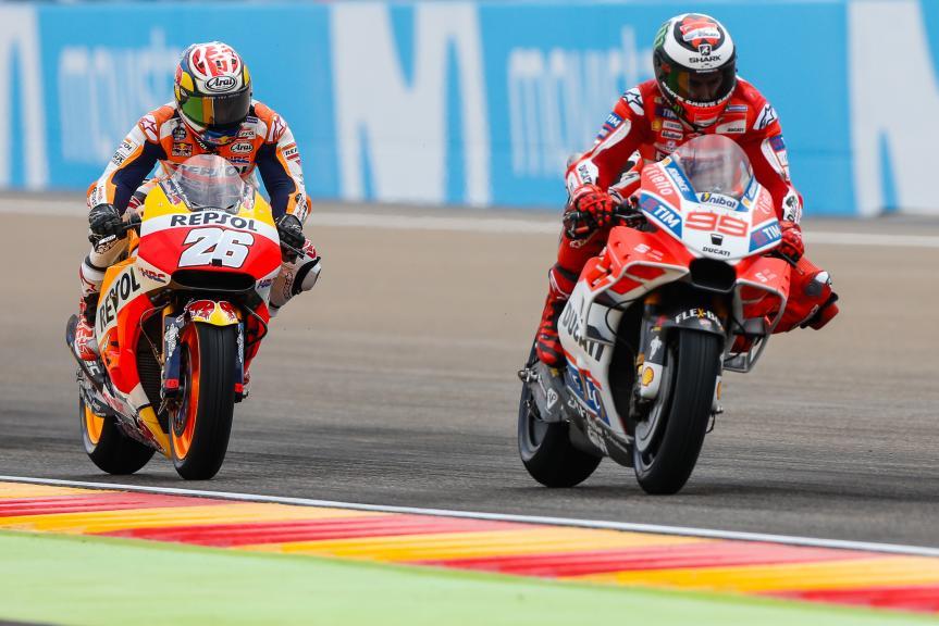 Dani Pedrosa, Jorge Lorenzo, Gran Premio Movistar de Aragón