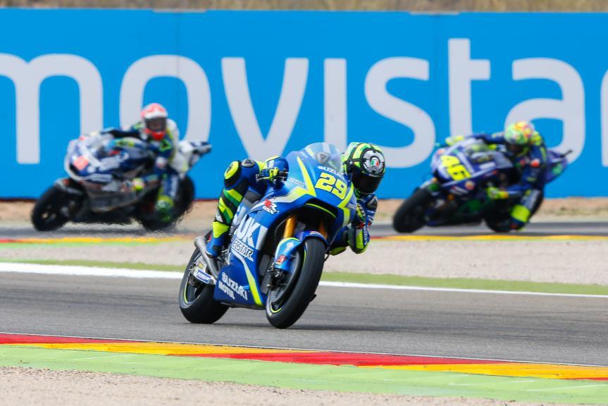 Andrea Iannone, Team Suzuki Ecstar, Gran Premio Movistar de Aragón