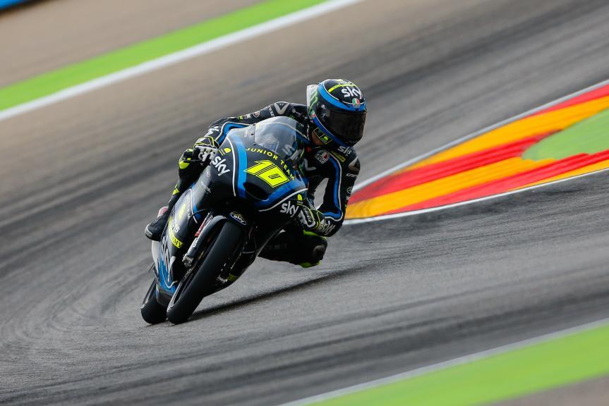 Dennis Foggia, Sky Junior Team VR46 Academy, Gran Premio Movistar de Aragón