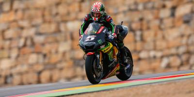 Zarco 'pretty happy' after P3 on Day 1
