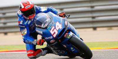 Moto2™: Pasini ist Schnellster am ersten Tag des #AragonGP