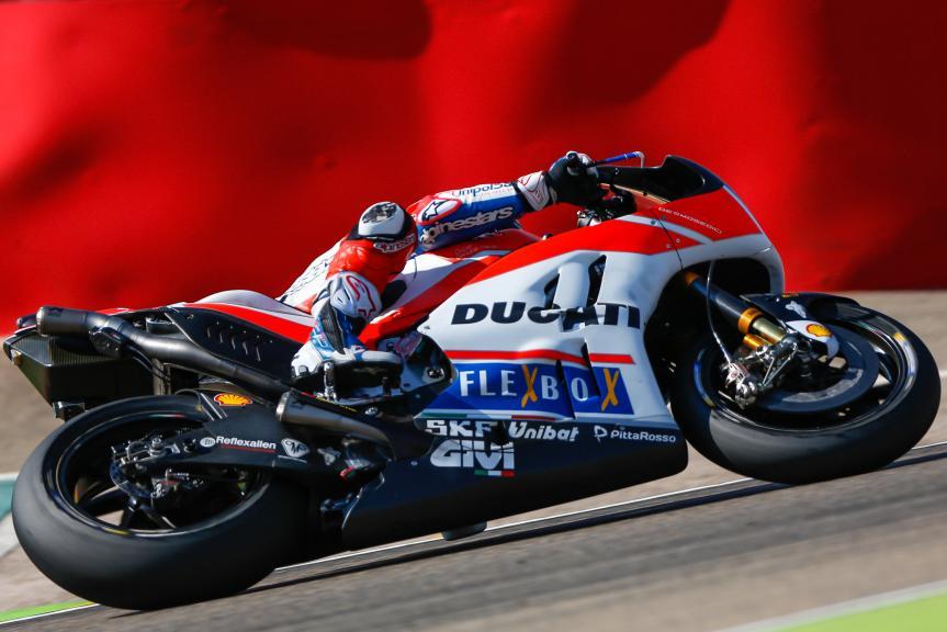 Andrea Dovizioso, Ducati Team, Gran Premio Movistar de Aragó