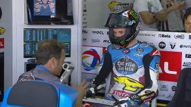 The entire Qualifying session from the #AragonGP of the Moto2? World Championship.