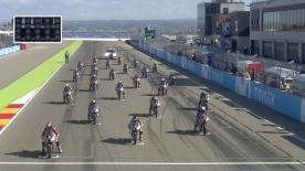 The full race from Saturday at the MotorLand Aragon.