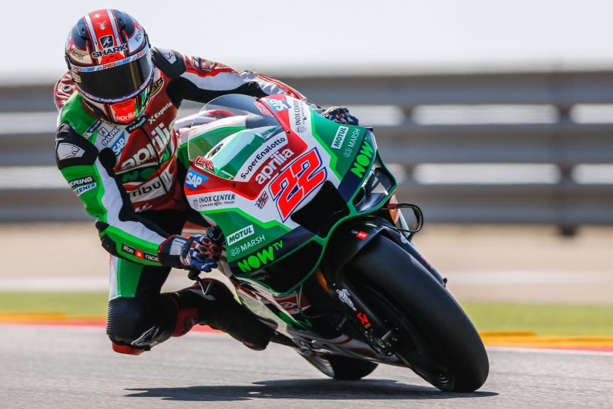 Sam Lowes, Aprilia Racing Team Gresini, Gran Premio Movistar de Aragón