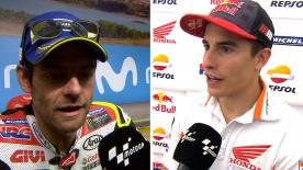 The  MotoGP™ riders give us feedback at the #AragonGP.