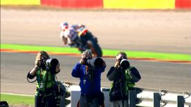 Catch all the superb detail from the Aragon circuit with this slow motion footage, filmed during qualifying at the #AragonGP.