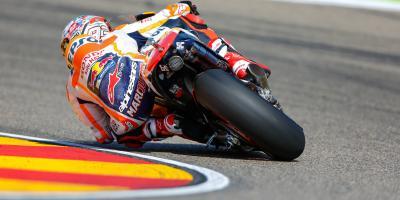 Márquez : «Nous pourrons nous battre pour le podium»