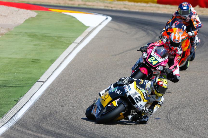 Thomas Luthi, Carxpert Interwetten, Gran Premio Movistar de Aragón
