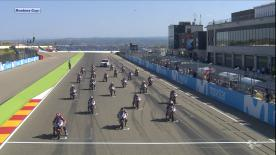 The full race from Sunday at the MotorLand Aragon.