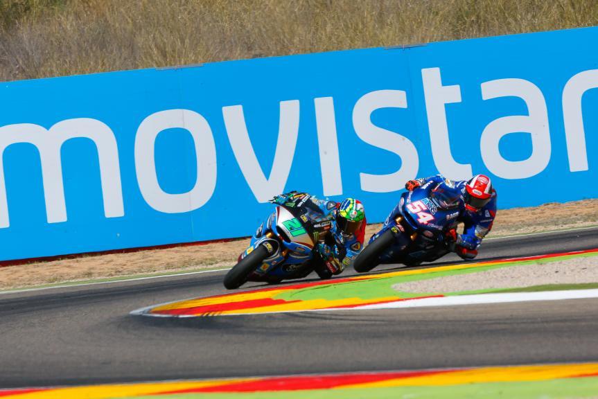 Franco Morbidelli, Mattia Pasini, Gran Premio Movistar de Aragón