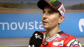 Second podium of the season for the Ducati Team rider who got closer to his first win with the Italian team