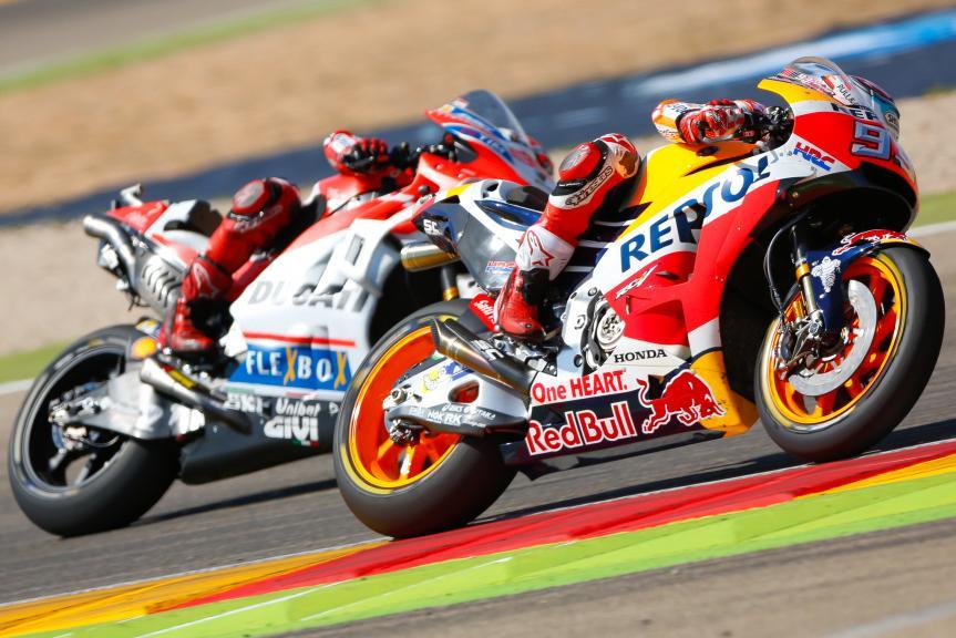 Marc Marquez, Jorge Lorenzo, Gran Premio Movistar de Aragón