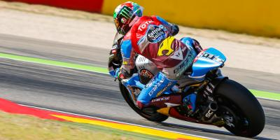 Morbidelli domina el Warm Up