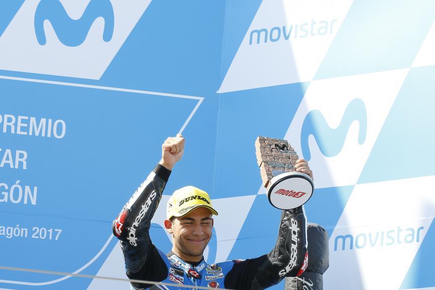 Enea bastianini, Estrella Galicia 0,0, Gran Premio Movistar de Aragón