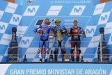 Franco Morbidelli, Mattia Pasini, Miguel Oliveira, Gran Premio Movistar de Aragón