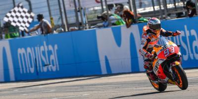 Márquez: 'He empezado la carrera con la mentalidad de ganar'