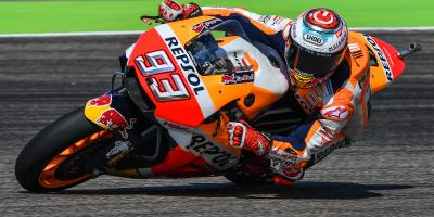 Tipping the scales: Marquez stamps his authority on Aragon