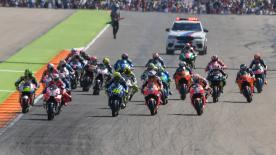 All the action from the full race session of the MotoGP™ World Championship at the #AragonGP.