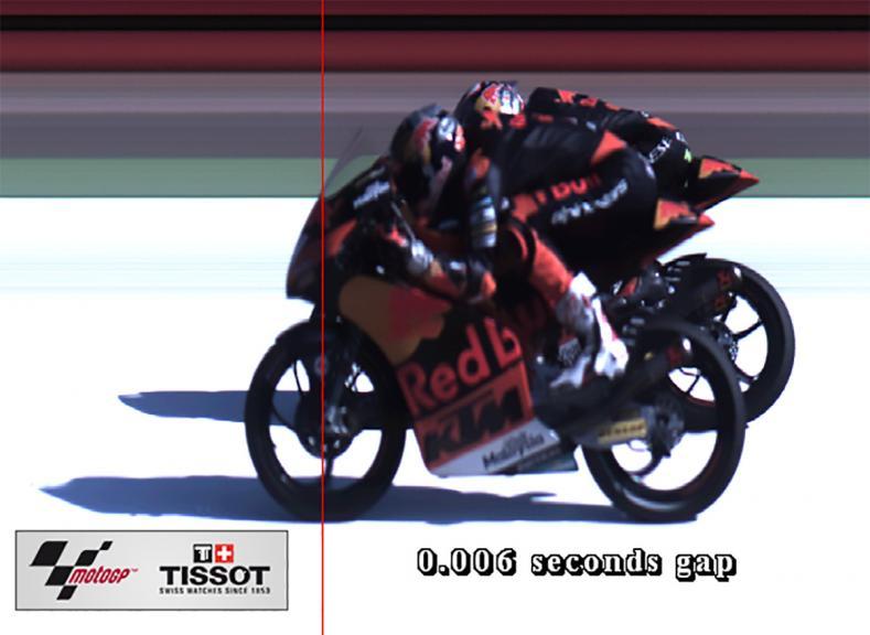 Photofinish, Moto3, Gran Premio Movistar de Aragón