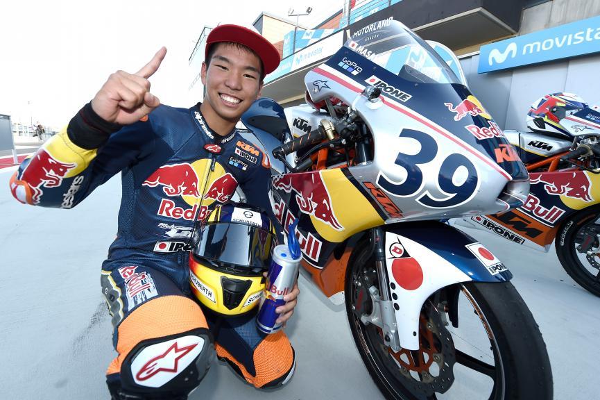 Kazuki Masaki, Red Bull MotoGP Rookies Cup