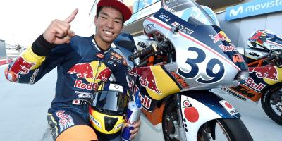 Victory and Cup to Masaki in Aragon 1