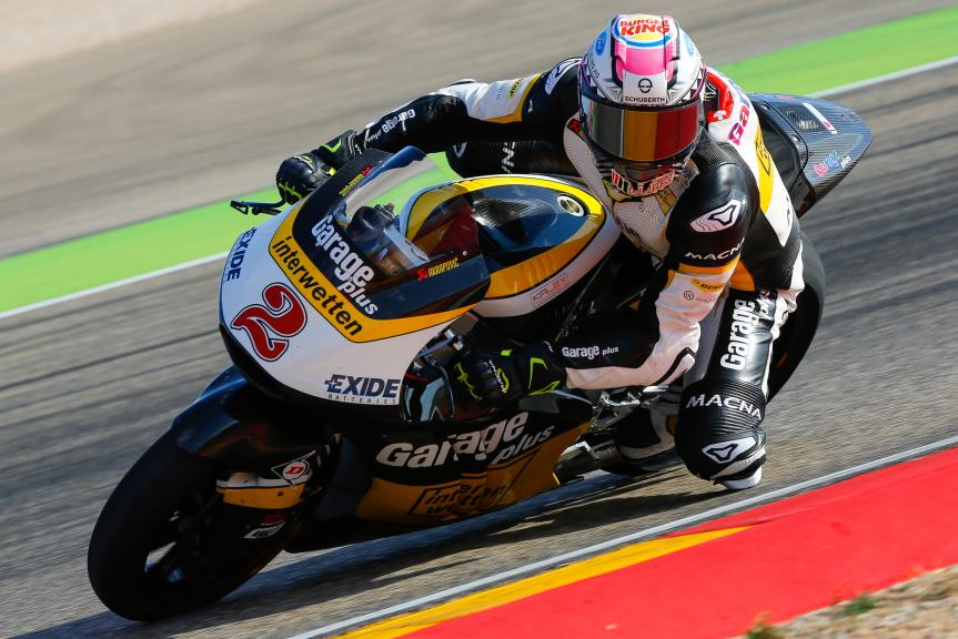 Jesko Raffin, Garage Plus Interwetten, Aragón Official Test, Moto2 - Moto3