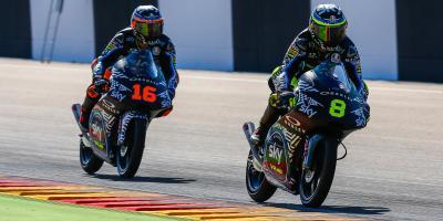 Le Moto3™ conclut son dernier Test Officiel en Aragón
