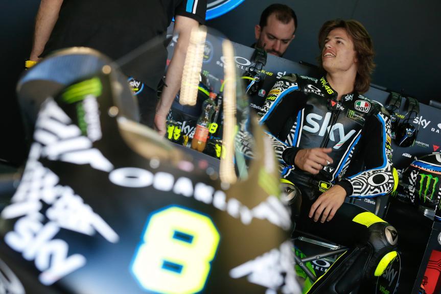 Nicolo Bulega, Sky Racing Team VR46, Aragón Official Test, Moto2 - Moto3