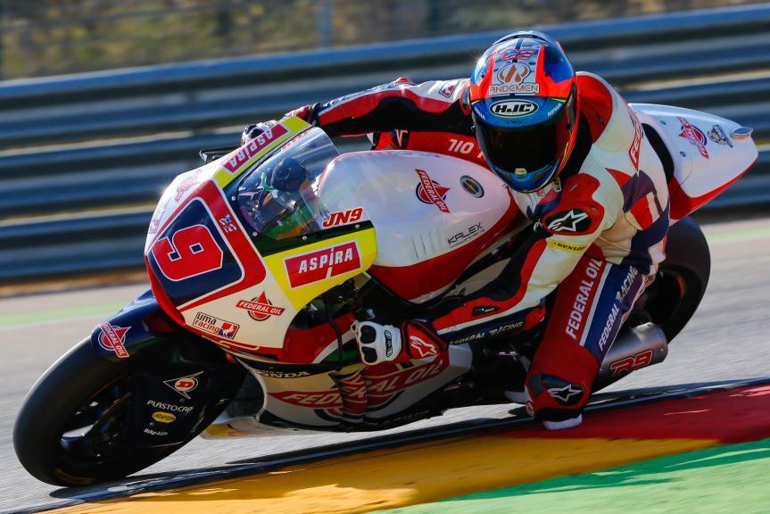 Jorge Navarro, Federal Oil Gresini Moto2, Aragón Official Test, Moto2 - Moto3