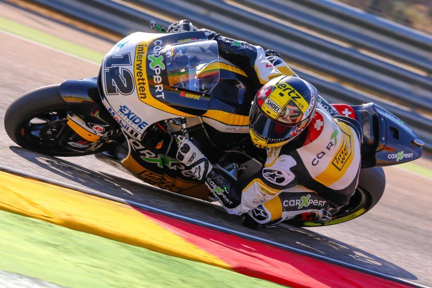 Thomas Luthi, Carxpert Interwetten, Aragón Official Test, Moto2 - Moto3