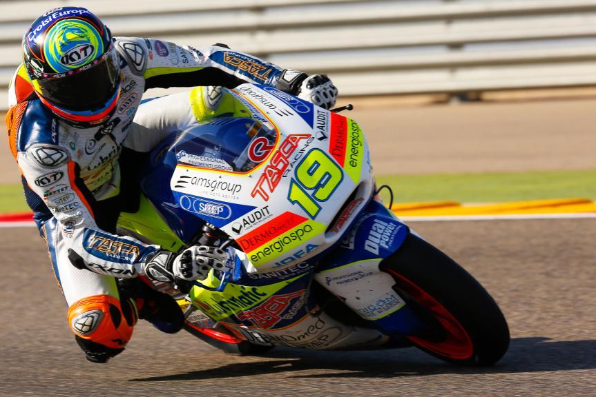 Xavier Simeon, Tasca Racing Scuderia Moto2, Aragón Official Test, Moto2 - Moto3