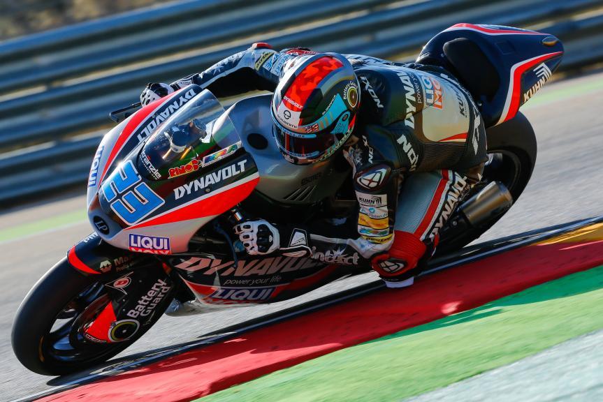 Marcel Schrotter, Dynavolt Intact GP, Aragón Official Test, Moto2 - Moto3