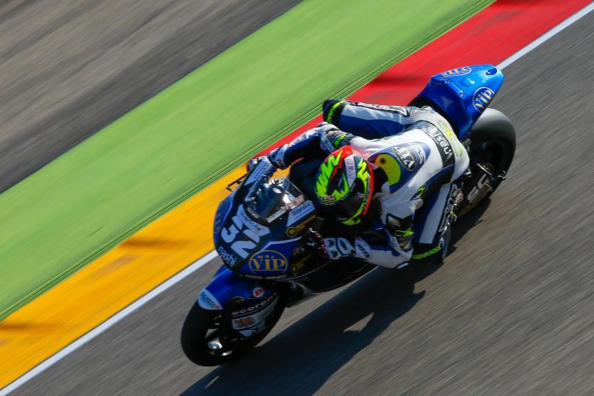 Isaac Vinales, SAG Team, Aragón Official Test, Moto2 - Moto3