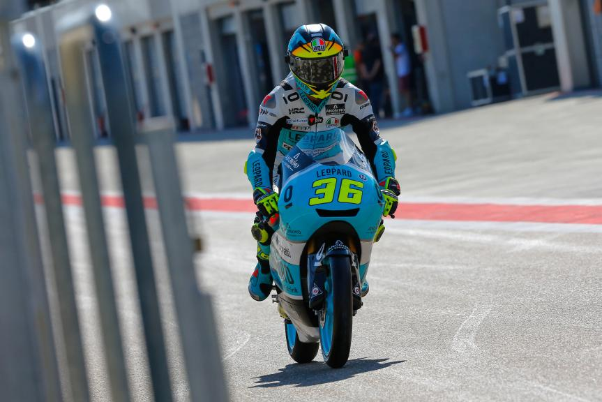 Joan Mir, Leopard Racing, Aragón Official Test, Moto2 - Moto3