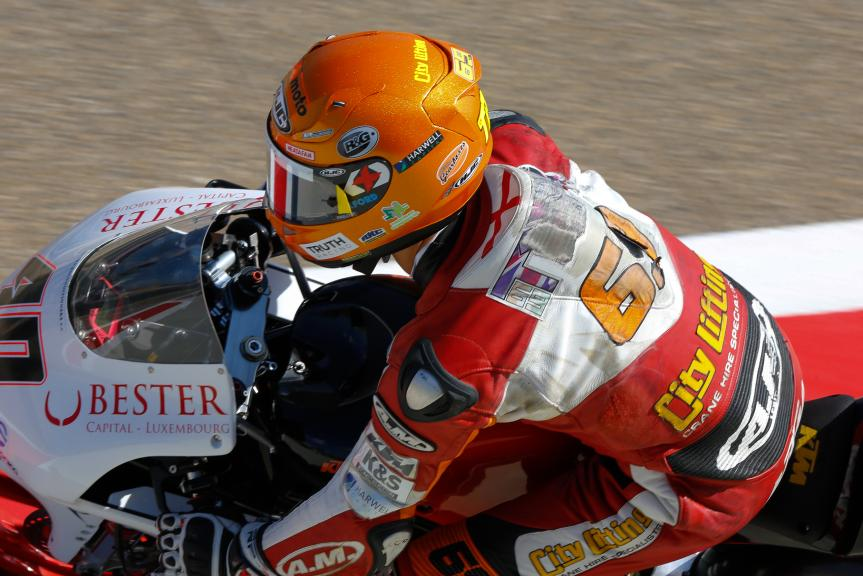Darryn Binder, Platinum Bay Real Estate, Aragón Official Test, Moto2 - Moto3