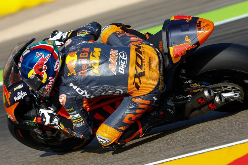 Brad Binder, Red Bull KTM Ajo, Aragón Official Test, Moto2 - Moto3