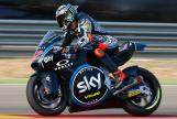 Francesco Bagnaia, Sky Racing Team VR46, Aragón Official Test, Moto2 - Moto3