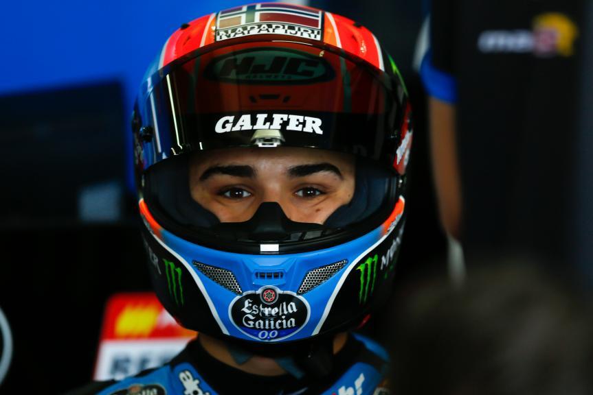Aron Canet, Estrella Galicia 0,0, Aragón Official Test, Moto2 - Moto3