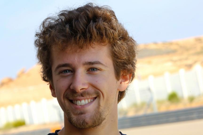Philipp Oettl, Sudmetal Schedl GP Racing, Aragón Official Test, Moto2 - Moto3