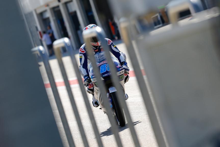 Jorge Martin, Del Conca Gresini Moto3, Aragón Official Test, Moto2 - Moto3