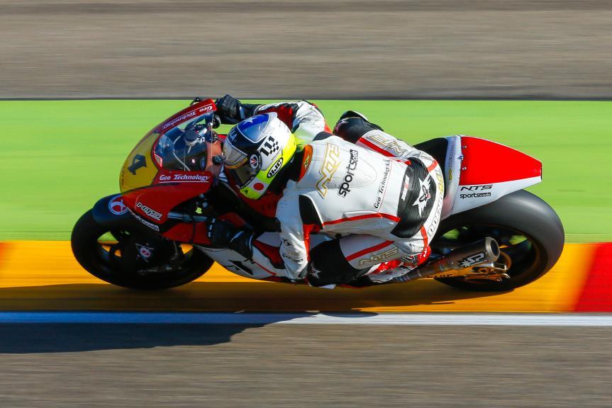 Steven Odentaal, NTS, Aragón Official Test, Moto2 - Moto3