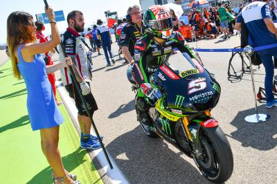 """Zarco """"missing something to stay with the leading group"""""""