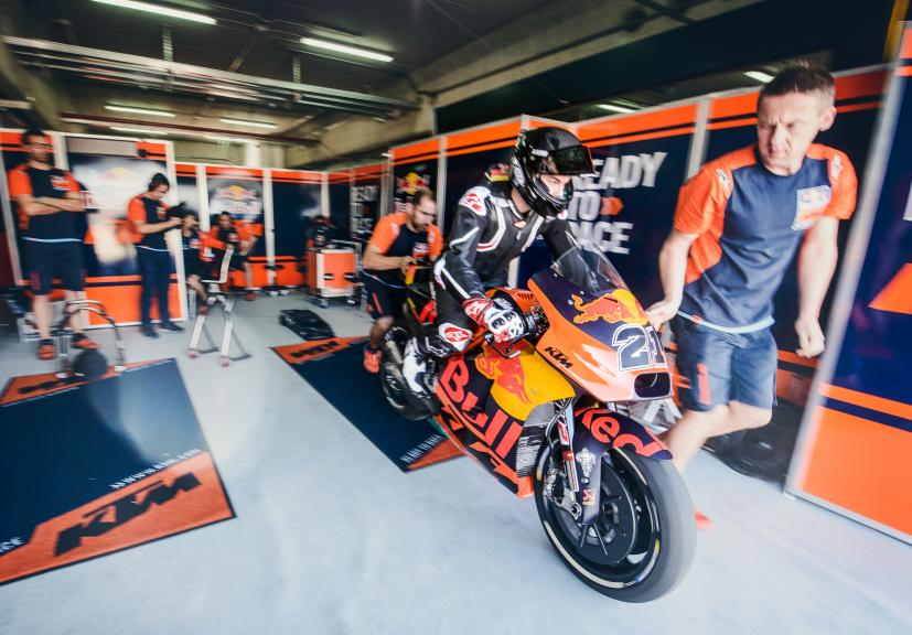 KTM MotoGP Private Test 2017 – MotorLand Aragon
