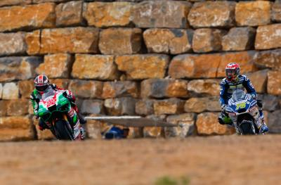 Photo finish for Baz and Lowes at Aragon