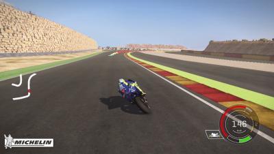 Rossi al MotorLand di Aragon con MotoGP™ 17