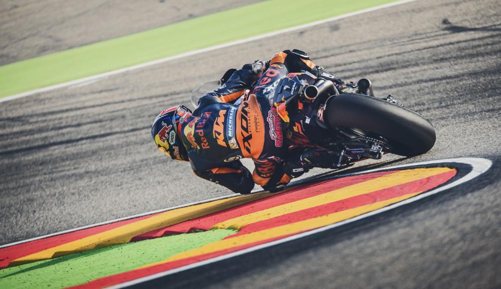 Bradley Smith, Red Bull KTM Factory Racing, Aragon test