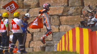 Missing the apex: #AragonGP