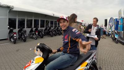 GoPro™: Behind the scenes of the MotoGP™ paddock