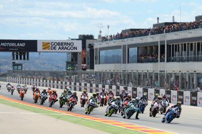 Llegada a MotorLand Aragón con Foggia con opciones de título